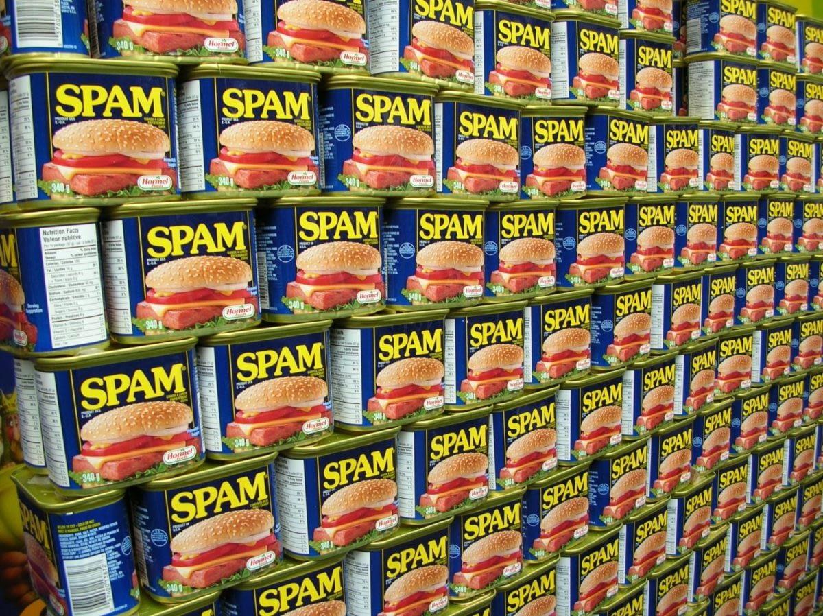 Recette N°11 Tu ne veux pas manger du Spam toute ta vie, si ?